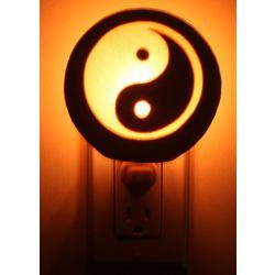 Large Yin Yang Hydrostone Nightlight