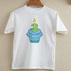 My Little Cupcake Birthday Youth T-Shirt