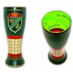 Golf Handpainted Pilsner Glass