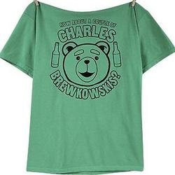 Ted the Teddy Bear Charles Brewkowskis Shirt