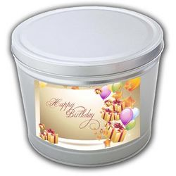 Birthday 2 Gallon Popcorn Gift Tin