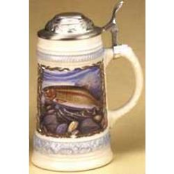 Engravable Brook & Rainbow Trout Stein