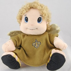 "New Orleans Saints 9"" Plush Mascot"