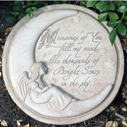 Memories of You Memorial Stepping Stone