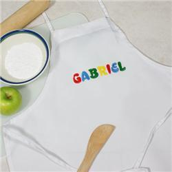 Personalized Child Kitchen Apron