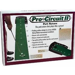 Pro Circuit II Putt Return Golf Putting Green
