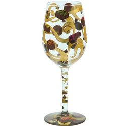 Chocoholic Wine Glass