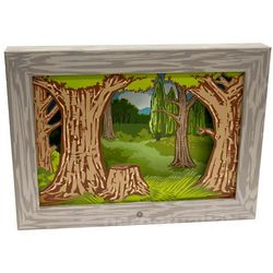 Woodlands Diorama Moving Picture