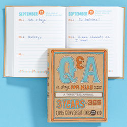 Q&A a Day for Kids Journal