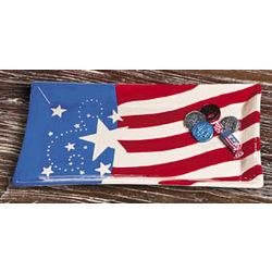 Patriotic Ceramic Serving Platter