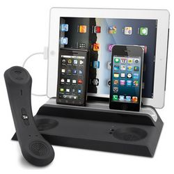 Bluetooth Handset Quad Charger