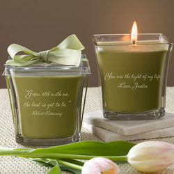 Papaya and Bamboo For My Love Scented Spa Candle