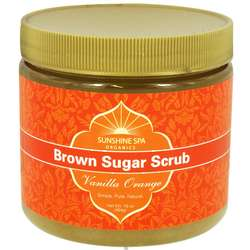 Vanilla Orange Brown Sugar Body Scrub