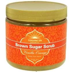Vanilla Orange Brown Sugar Body Scrub