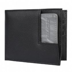Joey Duct Tape & Leather Bifold Wallet