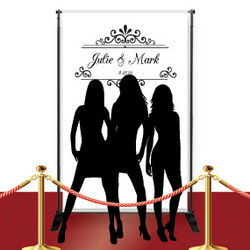 Custom Red Carpet Vintage Banner
