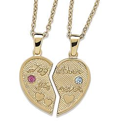 His & Hers Share-able Birthstone Pendant