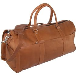 Leather Convertible Duffle to Garment Bag