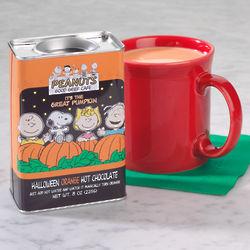 Peanuts Halloween Orange Hot Chocolate