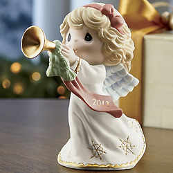 Peace On Earth and Goodwill To All 2013 Angel Figurine