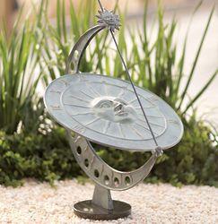 Aluminum Sunface Garden Sundial