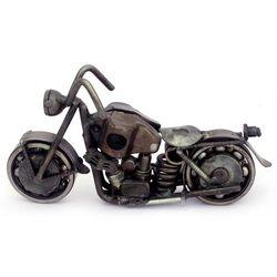 Rustic Standard Motorbike Auto Part Statuette