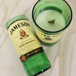 Jameson Irish Whiskey Handmade Bottle Candle