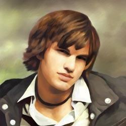 Ashton Kutcher Limited Edition Fine Art Print