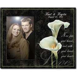 Personalized Calla Lily Photo Frame