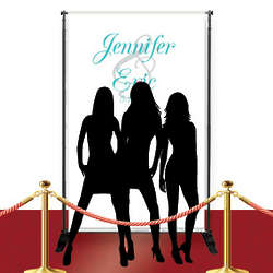 Custom Red Carpet Fancy Banner