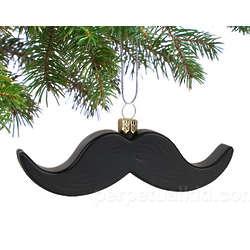 Mustache Ornament