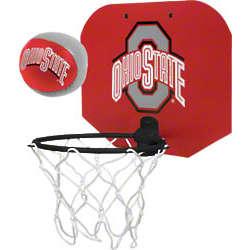 Ohio State Buckeyes Slam Dunk Softee Hoop Set