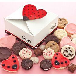 Ladybug Cookie and Brownie Treat Box