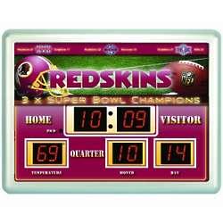 Washington Redskins Scoreboard Clock