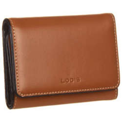 Audrey Leather Mallory French Purse in Toffee