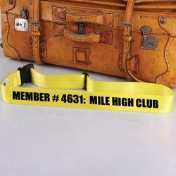 Mile High Club Bag Tag