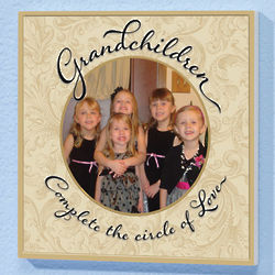 Grandchildren Complete the Circle of Love Plaque