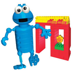 Cookie Monster and Hooper's Store K'Nex Kit