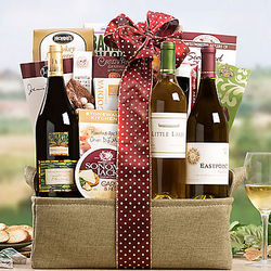 California White Wine Trio Gift Basket