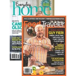 Food Traveler & Everyday Home Combo Magazine 4-Issue Subscription