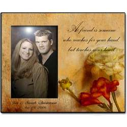 Personalized Soft Rose Photo Frame