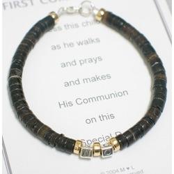Communion Bracelet for Him