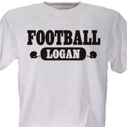 Football Fan Personalized Sports T-Shirt