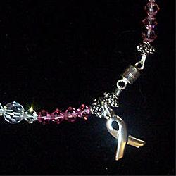 Breast Cancer Survivor Crystal Bracelet