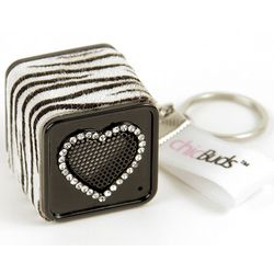 ChicBoom Heart MP3 Speaker and Keychain