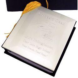Engravable Graduation Cap Photo Album
