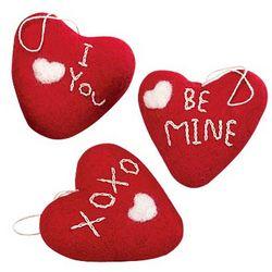 Valentine's Plush Hearts