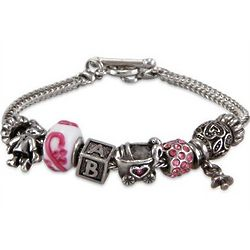 It's a Baby Girl Theme Oriana Bracelet