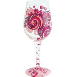 Razzmatazz Wine Glass