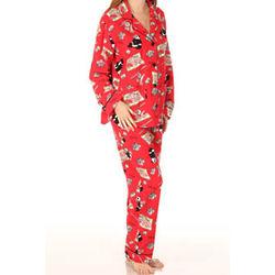 Panda Sushi Flannel Pajama Set